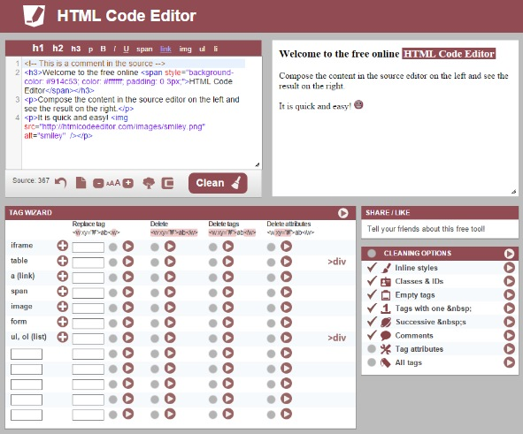 document attributes in html